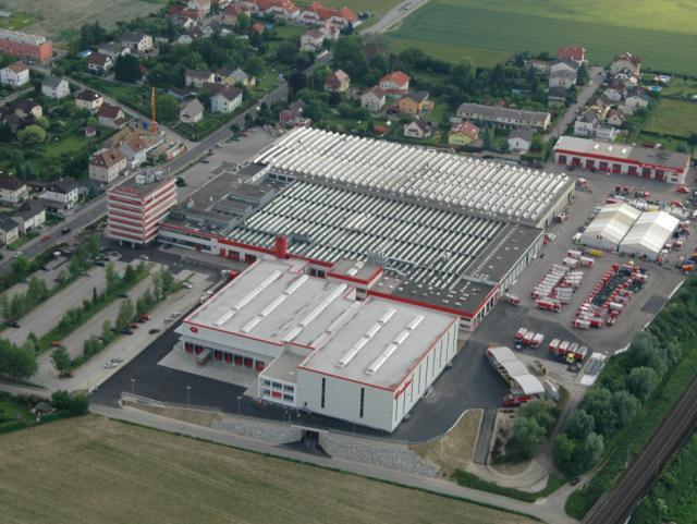 ELIN Referenz-Projekt-Bild: Logistikzentrum Rosenbauer KG