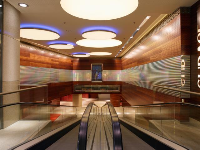 ELIN Referenz-Projekt-Bild: Umbau Einkaufszentrum Lentia City