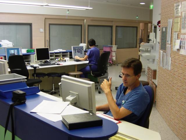 ELIN Referenz-Projekt-Bild: Krankenhaus der Barmh. Schwestern, Intensiv