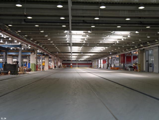 ELIN Referenz-Projekt-Bild: Hauptwerkstätte Simmering der Wiener Linien