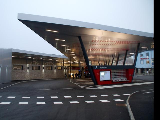 EBG Referenz-Projekt-Bild: Busbahnhof Attnang-Puchheim - Neubau