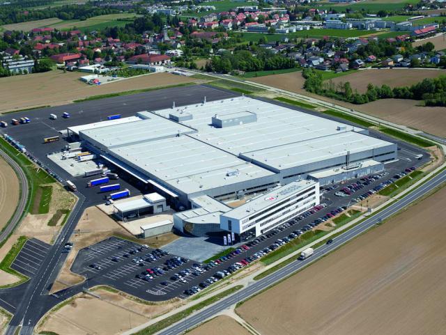 EBG Referenz-Projekt-Bild: Wacker Neuson - Baumaschinenwerk