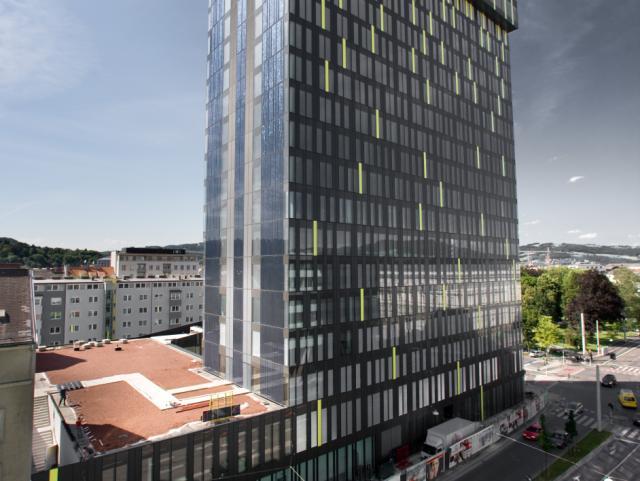 EBG Referenz-Projekt-Bild: Energie AG - Konzernzentrale - POWER TOWER