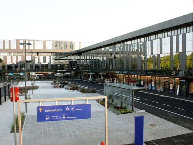 EBG Referenz-Projekt-Bild: Bahnhofcity, Wels