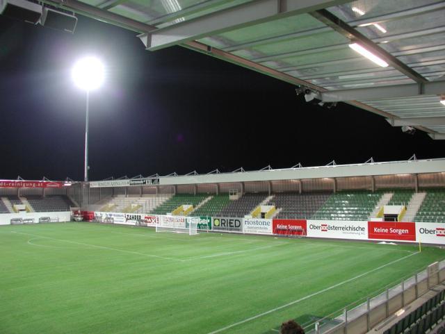 EBG Referenz-Projekt-Bild: Stadion Ried
