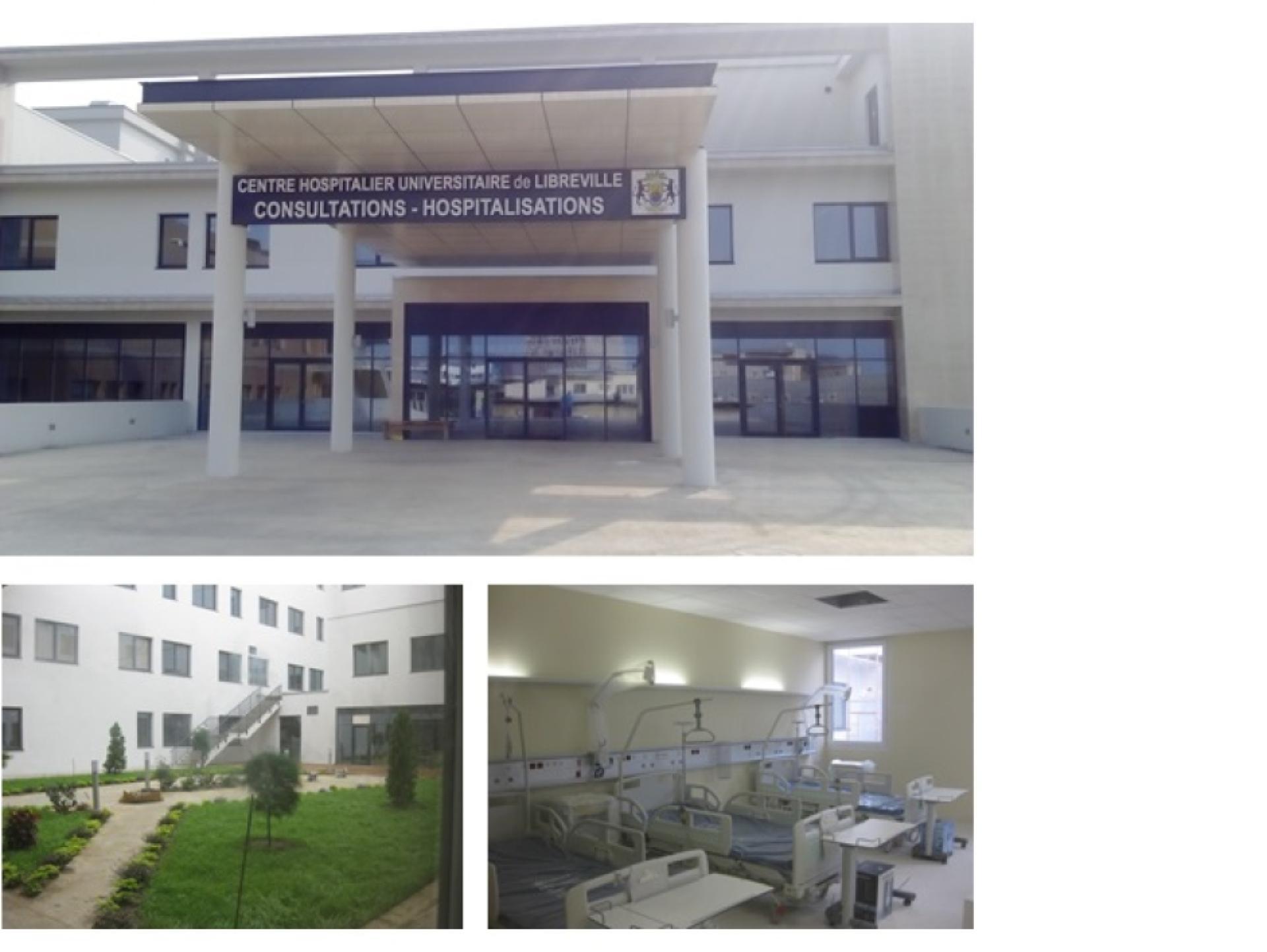 Mood-Image ELIN Referenz: Central Hospital Libreville BT 2