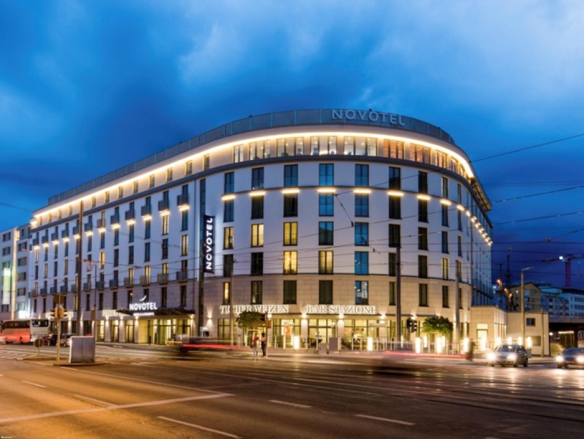 """Mood-Image ELIN Referenz: Hotel Novotel Nürnberg """"Centre Ville"""""""