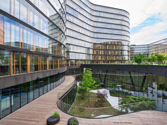 ELIN Referenz-Projekt-Bild: Erste Campus - Headquarter Erste Group