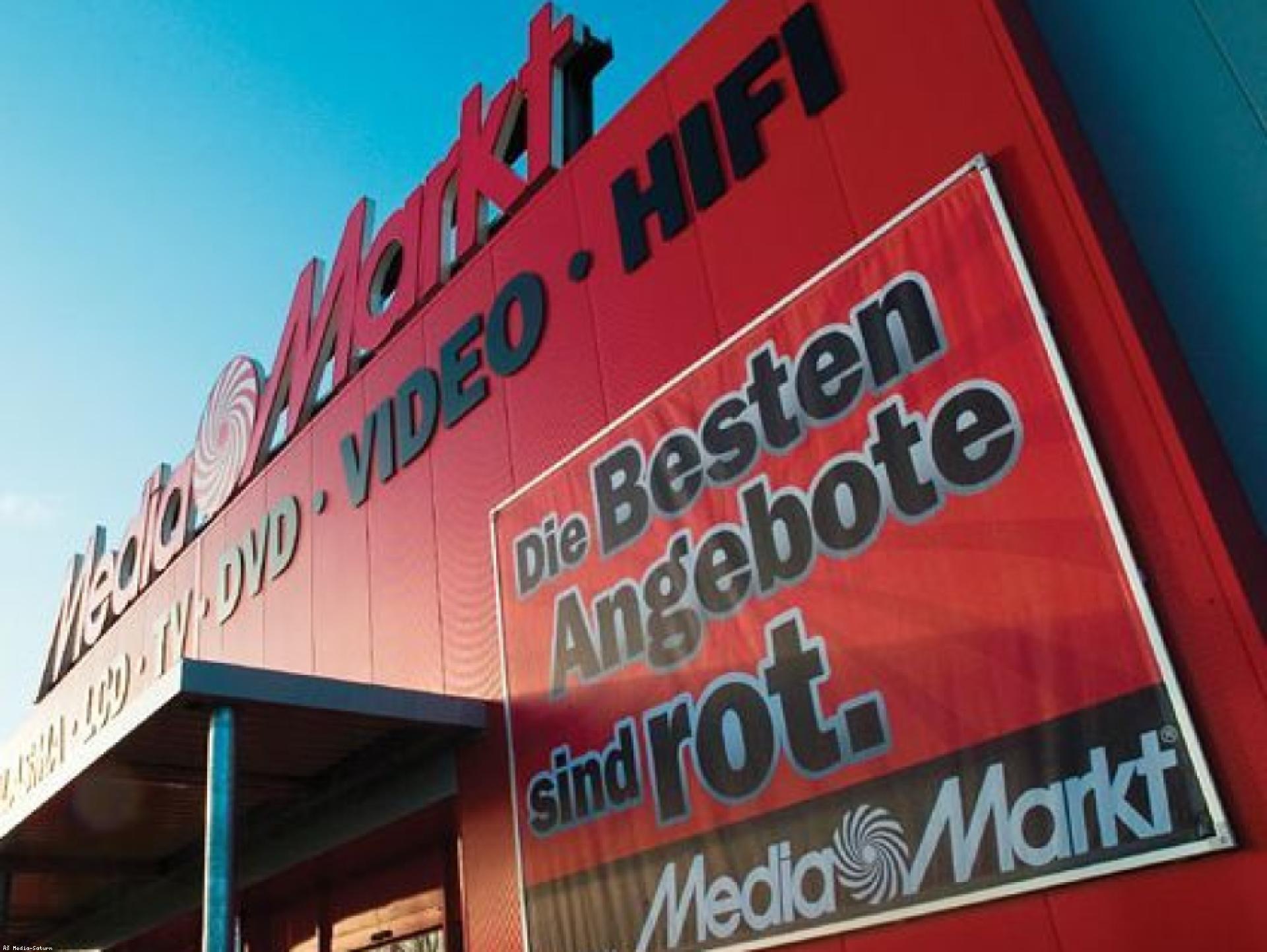 Mood-Image ELIN Referenz: Elektroarbeiten im Media Markt Tulln