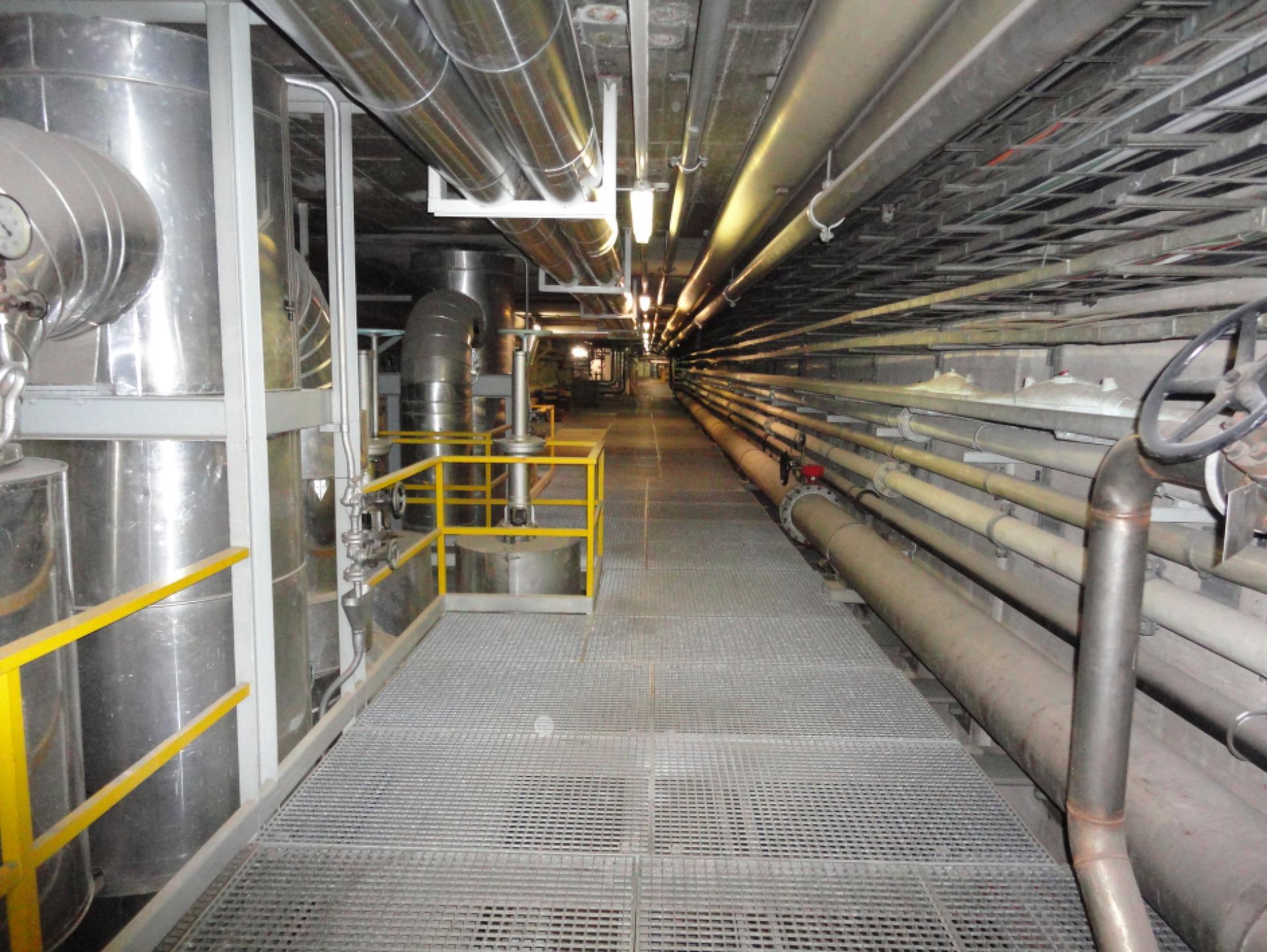 Mood-Image ELIN Referenz: Sicherheitsbeleuchtungsanlagen in den Müllverbrennungsanlagen Flötzersteig und Inzersdorf