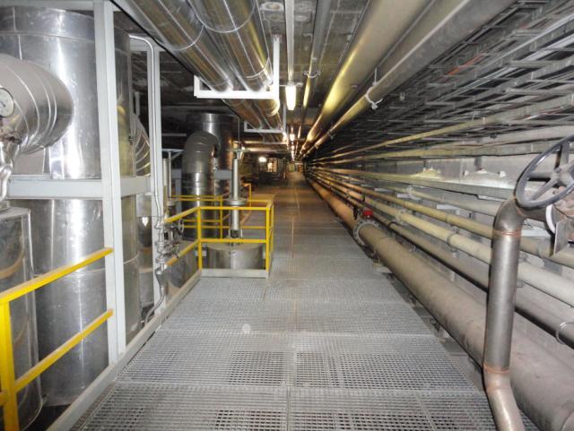 ELIN Referenz-Projekt-Bild: Sicherheitsbeleuchtungsanlagen in den Müllverbrennungsanlagen Flötzersteig und Inzersdorf