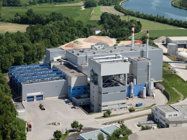 EBG Referenz-Projekt-Bild: Müllverbrennungsanlage WAV Linie II