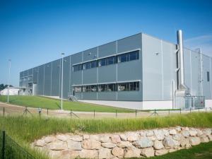 EBG Referenz Bild: Mediscan Rohr - Neubau Sterilisationsanlage samt Bürogeschoß und Außenanlage