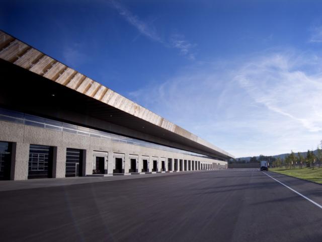 EBG Referenz-Projekt-Bild: KTM Logistikzentrum - Neubau