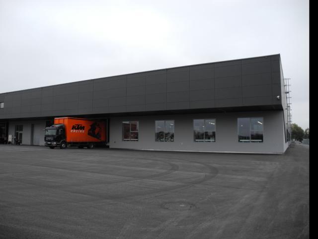 EBG Referenz-Projekt-Bild: KTM Teilezentrum Schalchen