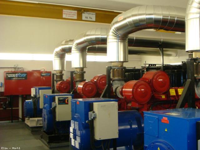 ELIN Referenz-Projekt-Bild: Salzburger Landeskliniken (SALK) - Energiezentrale