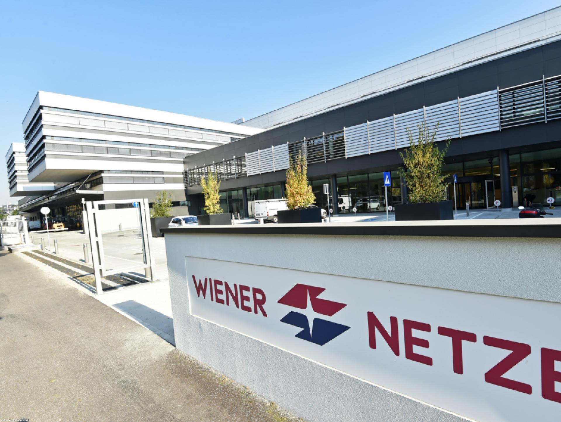 Mood-Image ELIN Referenz: Smart Campus der Wiener Netze