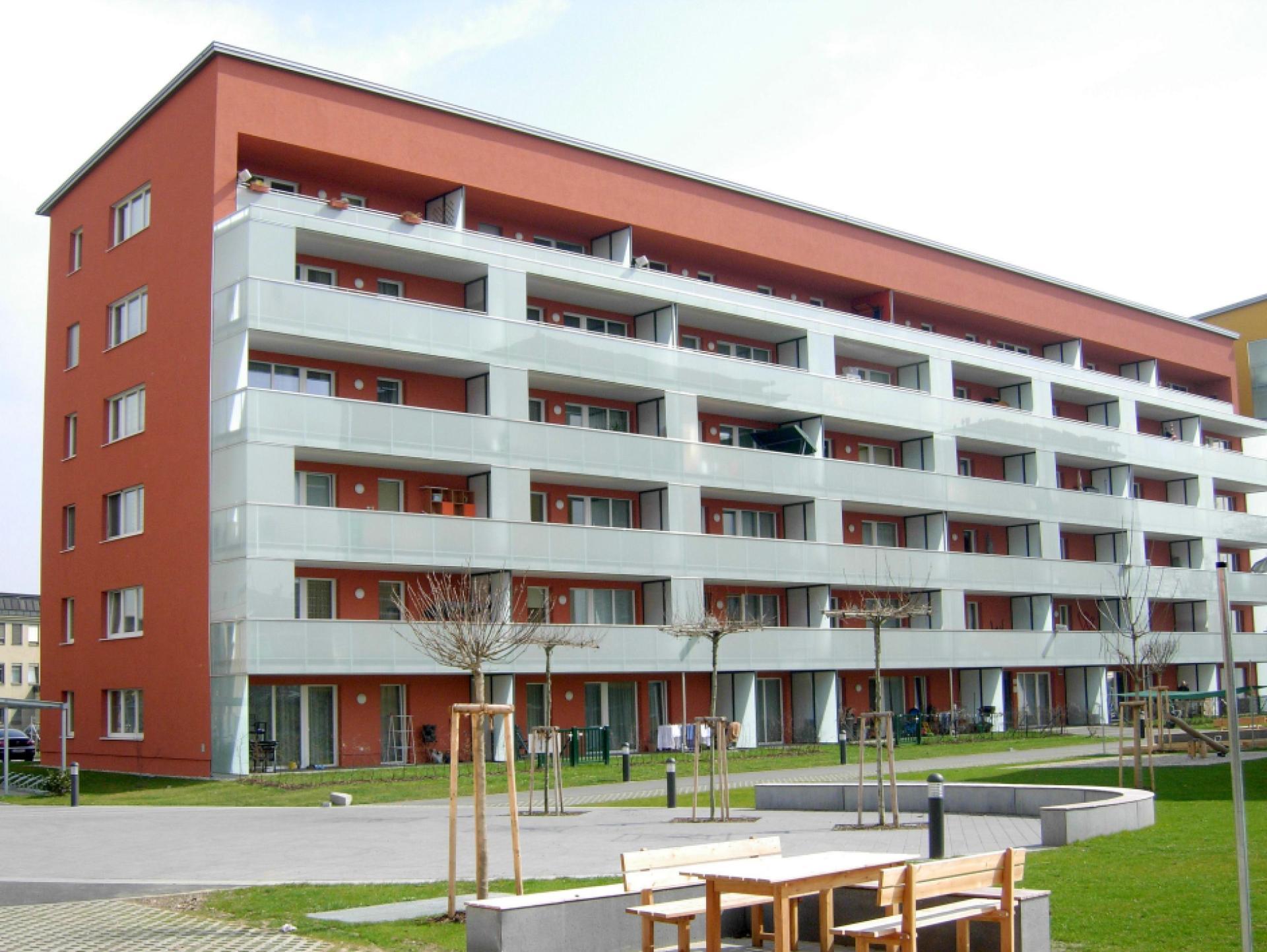 Mood-Image EBG Referenz: Wohnhausanlage Poschacherstraße Haus 6 + 8 + Tiefgarage