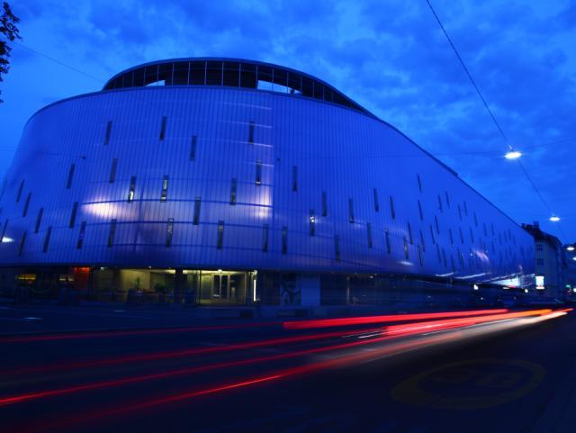 ELIN Referenz-Projekt-Bild: Rondo Graz Staplergarage