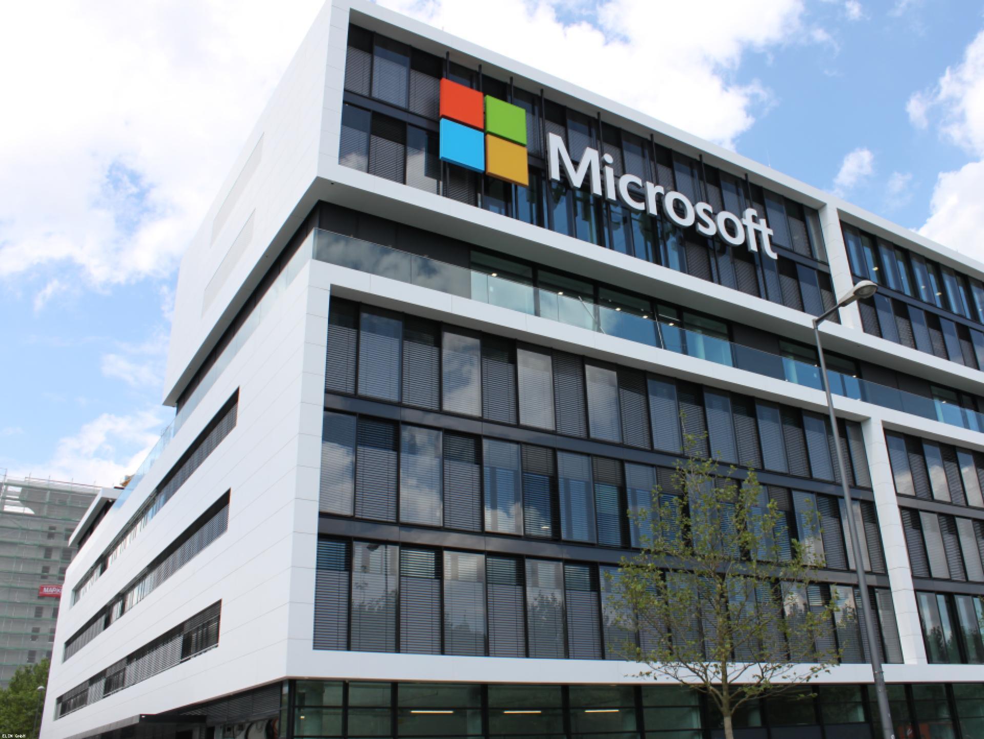 Mood-Image ELIN Referenz: Microsoft Deutschlandzentrale