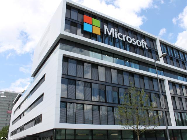 ELIN Referenz-Projekt-Bild: Microsoft Deutschlandzentrale