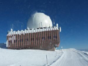ELIN Referenz Bild: Sanierung der Radarstation Austro Control auf der Koralpe.