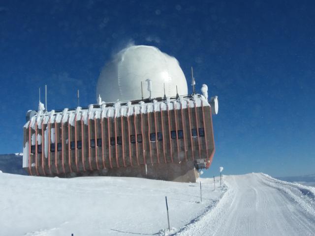 ELIN Referenz-Projekt-Bild: Sanierung der Radarstation Austro Control auf der Koralpe.