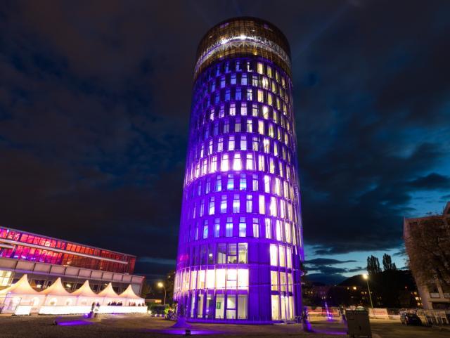ELIN Referenz-Projekt-Bild: Neubau Science Tower in der Smart City Graz, Büroturm