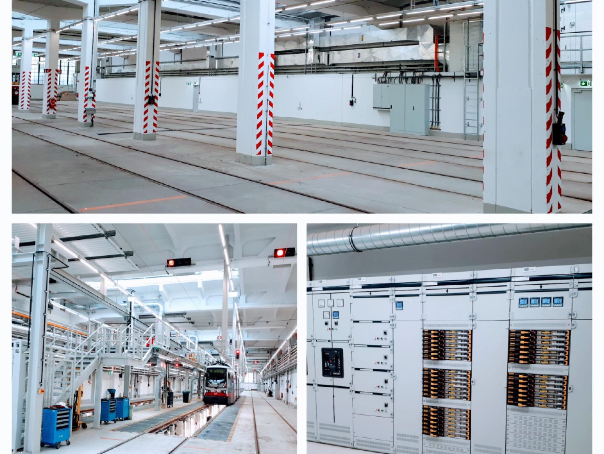 Mood-Image ELIN Referenz: Umbau des Bahnhofes Speising im Zuge des Projektes Remise 2.0
