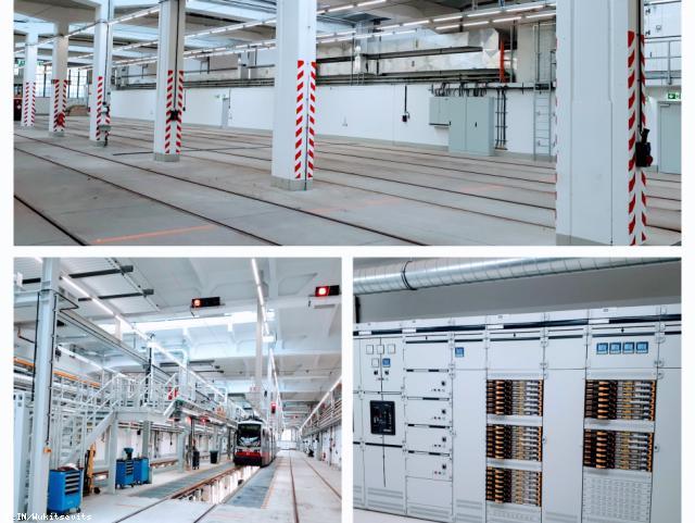 ELIN Referenz-Projekt-Bild: Umbau des Bahnhofes Speising im Zuge des Projektes Remise 2.0
