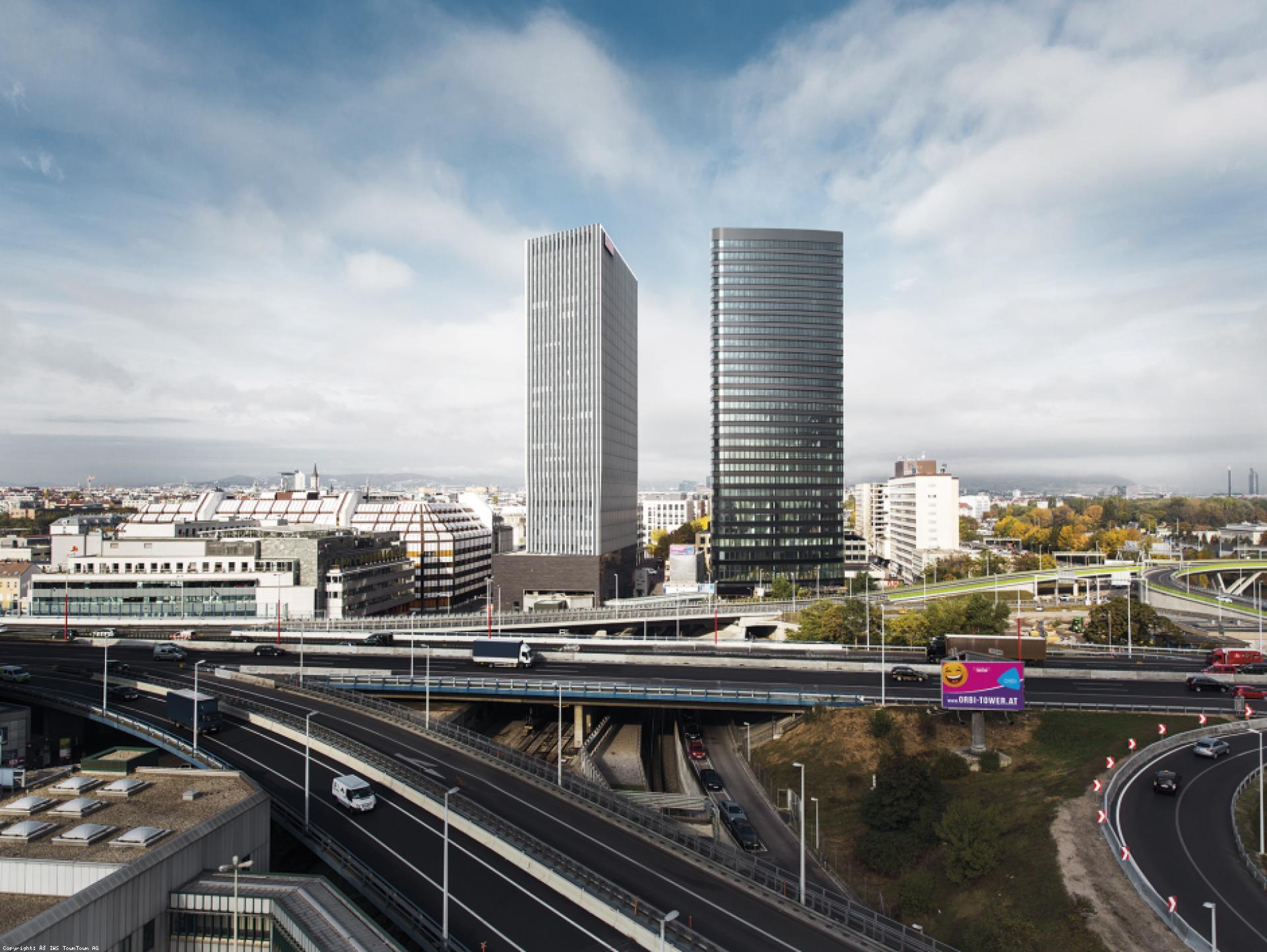 Mood-Image ELIN Referenz: ORBI Tower - Towntown: Stark- und Schwachstrominstallation