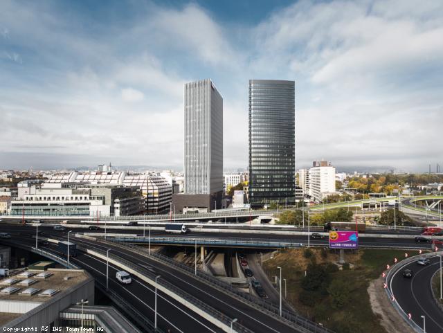 ELIN Referenz-Projekt-Bild: ORBI Tower - Towntown: Stark- und Schwachstrominstallation