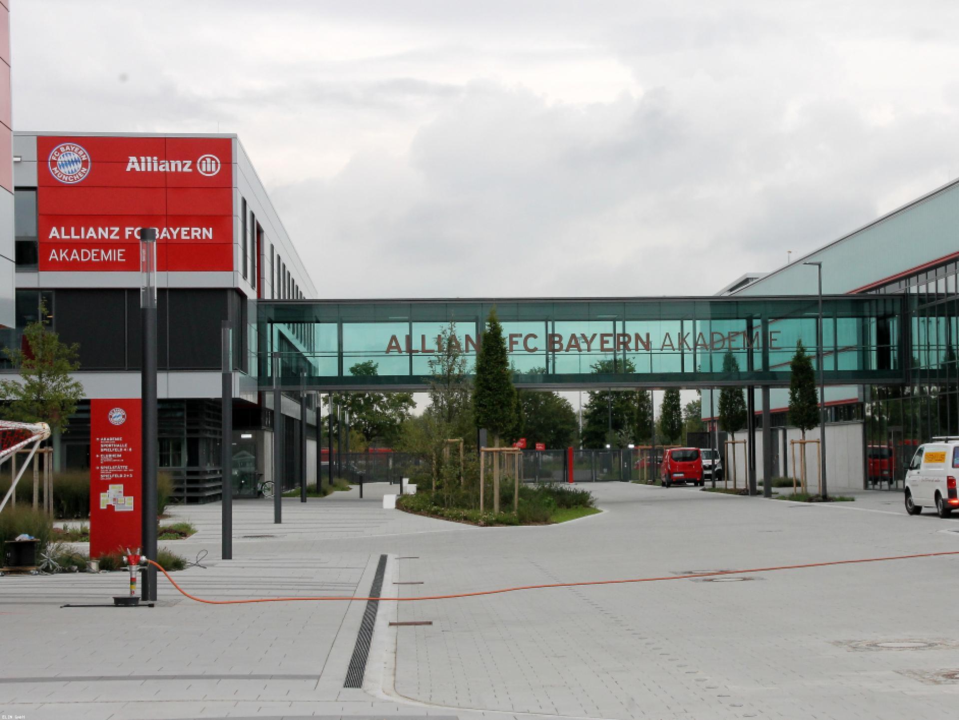 Mood-Image ELIN Referenz: FC Bayern Campus und Akademie