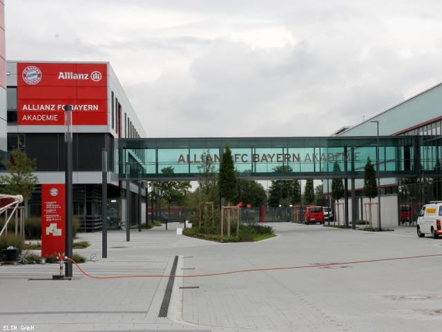 ELIN Referenz-Projekt-Bild: FC Bayern Campus und Akademie