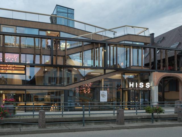 ELIN Referenz-Projekt-Bild: Weingut HISS - Neubau Weinverkauf