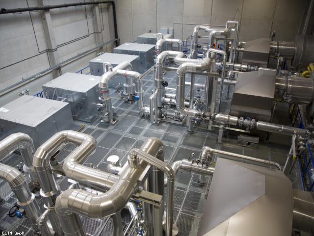 ELIN Referenz-Projekt-Bild: Neubau einer Gaskesselanlage