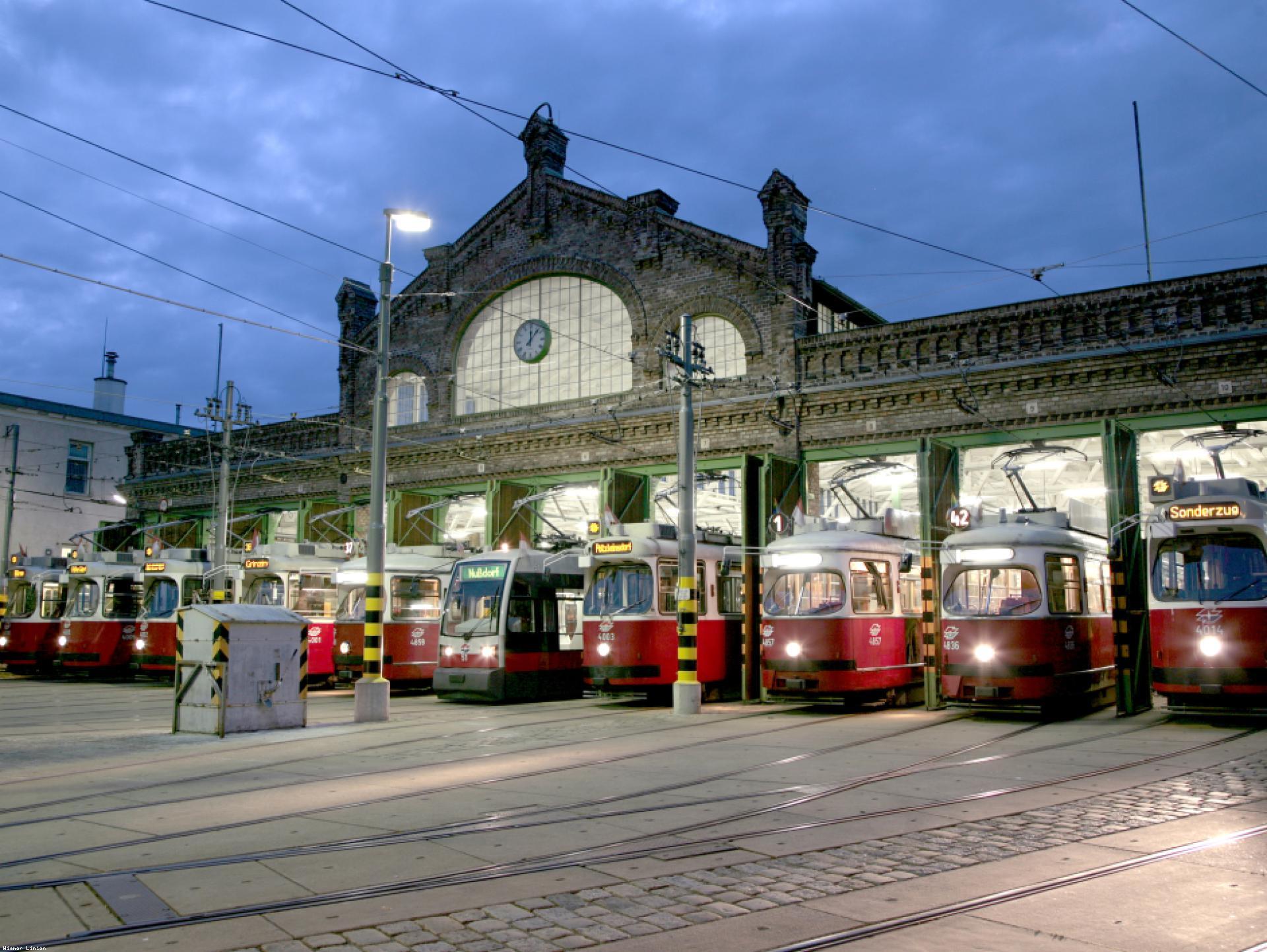 Mood-Image ELIN Referenz: Umbau des Bahnhofes Gürtel im Zuge des Projektes Remise 2.0