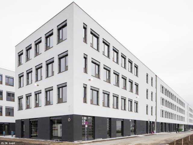 ELIN Referenz-Projekt-Bild: BMW Neubau Bürogebäude München Freimann