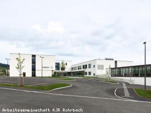 EBG Referenz Bild: Neubau Kinder- und Jugend-REHA Rohrbach-Berg