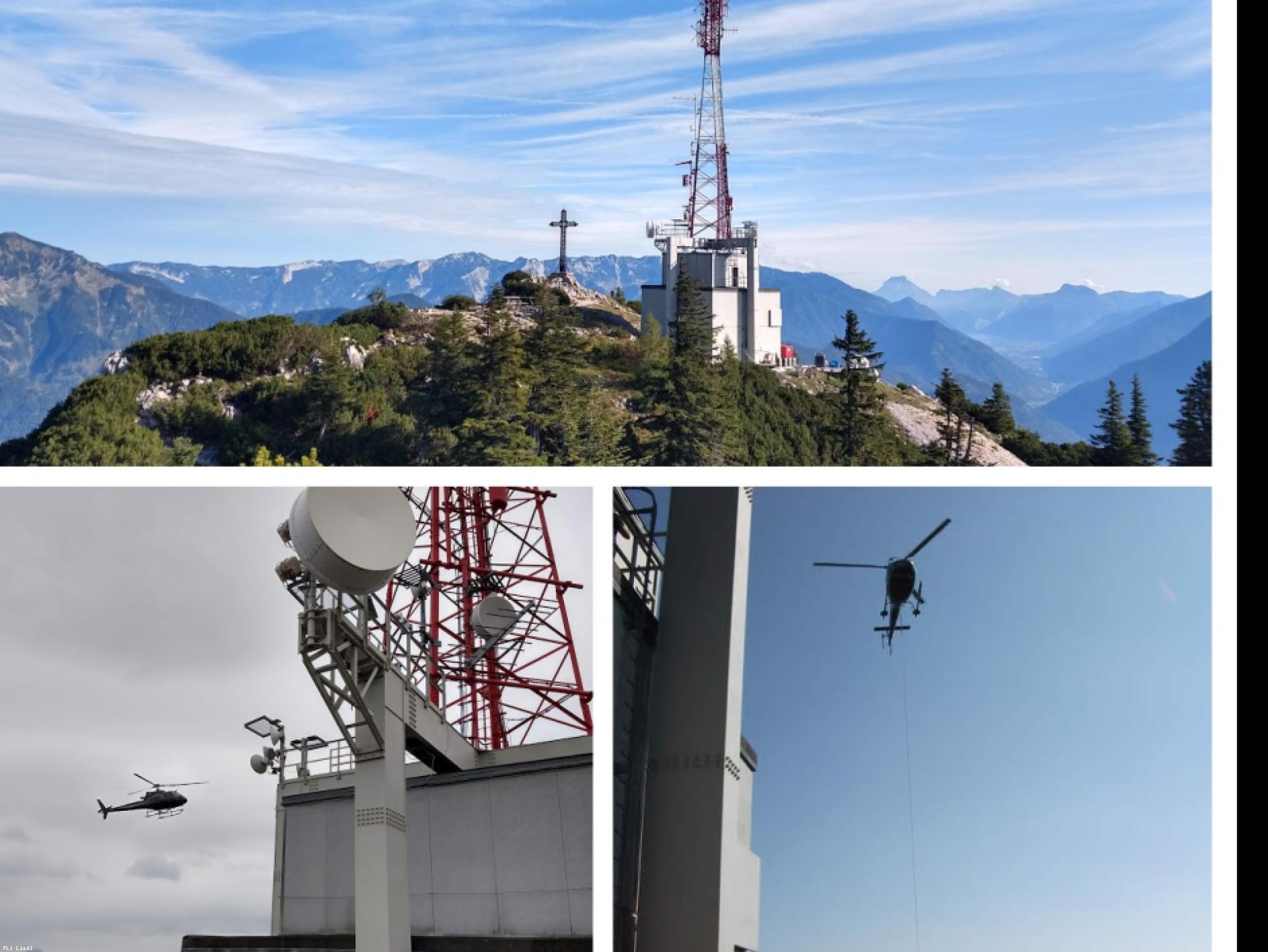 Mood-Image ELIN Referenz: Erneuerung NSHV (Niederspannungshauptverteilung) / Gebäudeinstallation ORS Sendeanlage Katrin