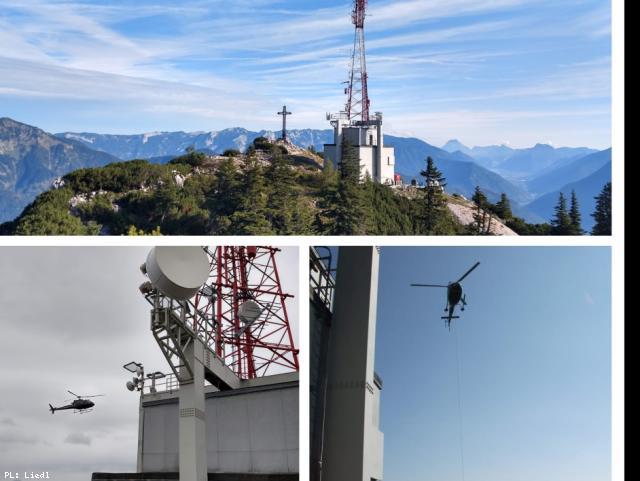 ELIN Referenz-Projekt-Bild: Erneuerung NSHV (Niederspannungshauptverteilung) / Gebäudeinstallation ORS Sendeanlage Katrin