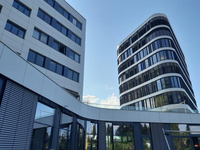 ELIN Referenz-Projekt-Bild: Neubau Headquarter Merkur Campus Graz