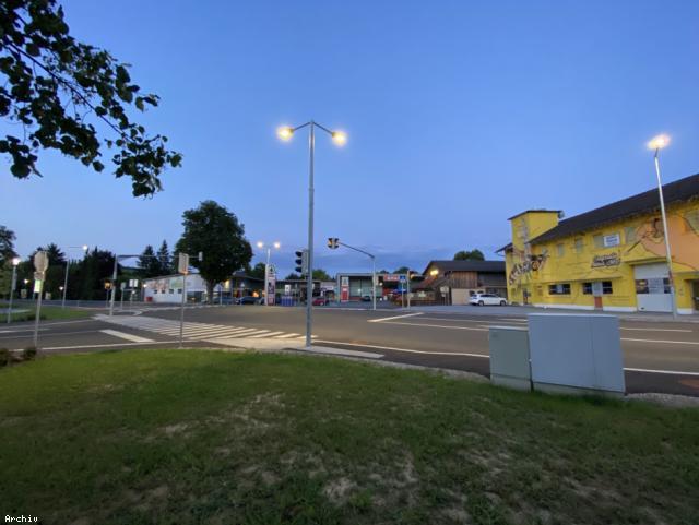 ELIN Referenz-Projekt-Bild: Beleuchtung der Ortsdurchfahrt