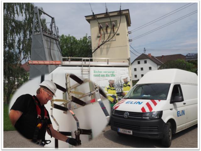 ELIN Referenz-Projekt-Bild: Trafostationsarbeiten LINZ NETZ GmbH