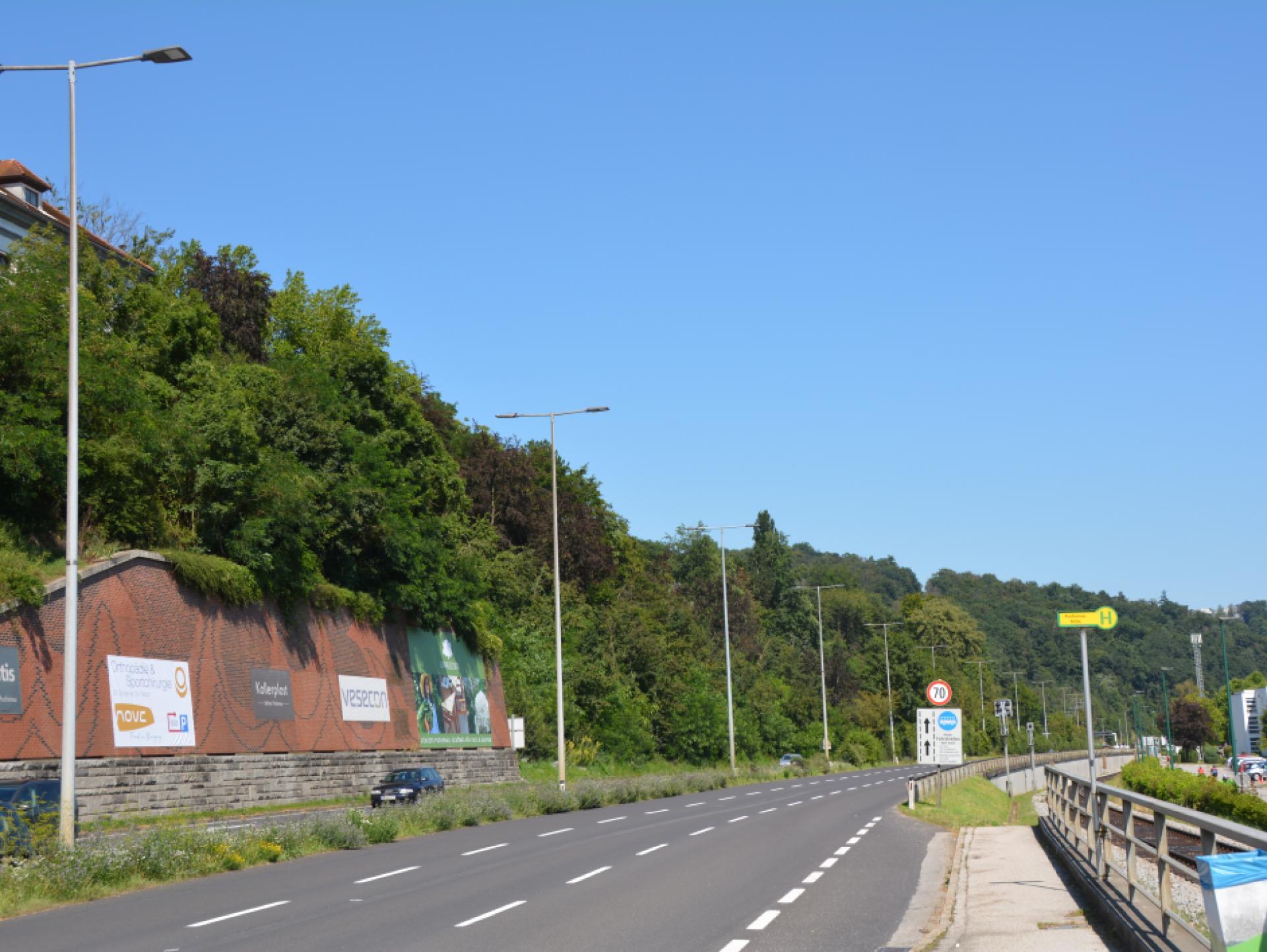 Mood-Image ELIN Referenz: Sanierung Straßenbeleuchtung Gemeinde Puchenau