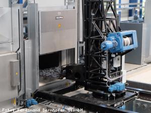 EBG Referenz Bild: Ferdinand Bernhofer GesmbH - Neubau Lager-Produktionshalle Umkleiden Kühlwasserversorgung
