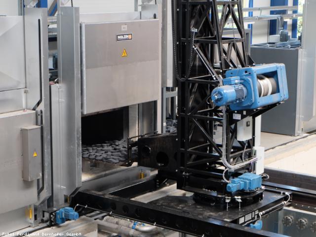 EBG Referenz-Projekt-Bild: Ferdinand Bernhofer GesmbH - Neubau Lager-Produktionshalle Umkleiden Kühlwasserversorgung