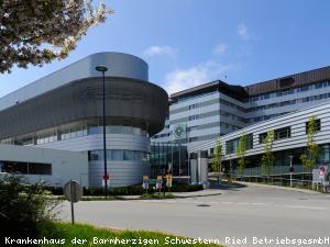 EBG Referenz Bild: Krankenhaus Ried Bauteil 5 Intensivverbund