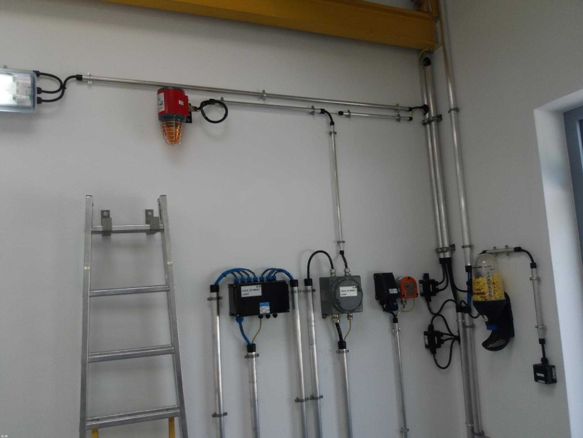 Mood-Image ELIN Referenz: Erneuerung der Brandmeldeanlagen in den Abzweigstationen Anreit, Großgöttfritz und Rainbach der Gas Connect Austria