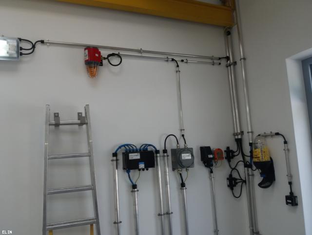 ELIN Referenz-Projekt-Bild: Erneuerung der Brandmeldeanlagen in den Abzweigstationen Anreit, Großgöttfritz und Rainbach der Gas Connect Austria